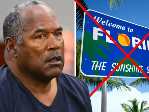 OJ Simpson can't go back to Florida because 'the state doesn't want him'