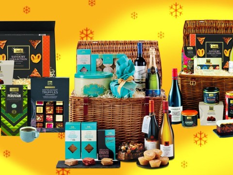 Aldi has released five luxurious Christmas hampers