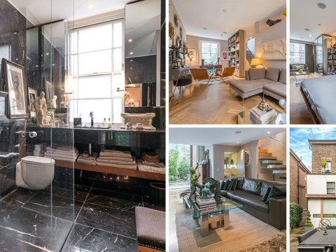 Shoe designer Patrick Cox sells house with a 'disco loo' and a walk-in shoe den for £2.7 million