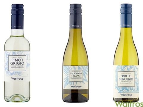 Waitrose starts selling half bottles of wine to curb mid-week drinkers