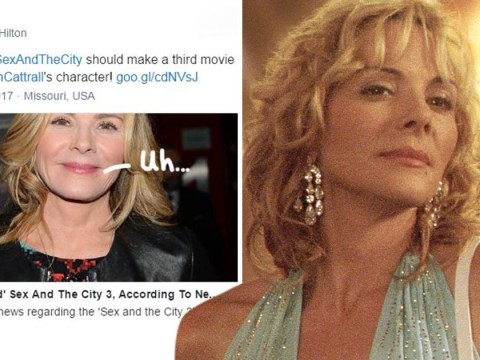 Kim Cattrall retweets post saying Samantha Jones should be killed off in Sex And The City