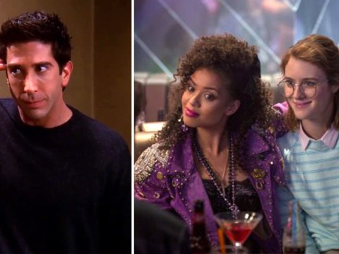 Did Ross from Friends predict Black Mirror's San Junipero episode 18 years ago?