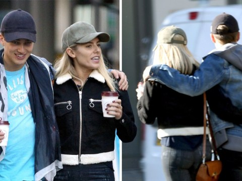 Mollie King and Strictly Come Dancing partner AJ Pritchard look very close on coffee date