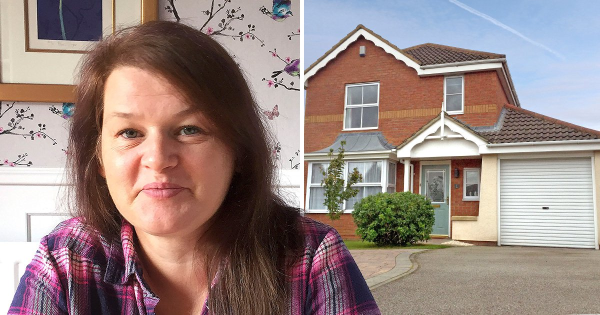 A mum-of-four is raffling off her £300,000 five bedroom family home for just £2 a ticket