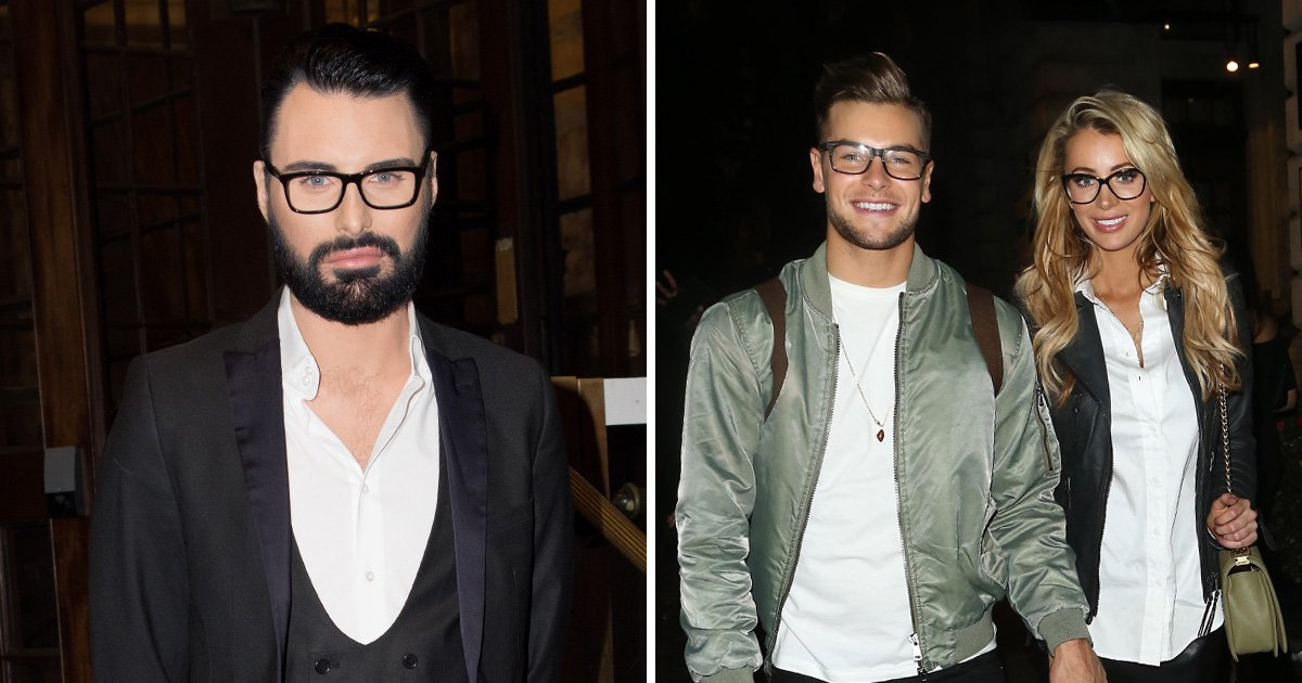 Rylan Clark-Neal clashes with Chris Hughes and Olivia Attwood on red carpet after 'Katie Price's lap dog' jibe