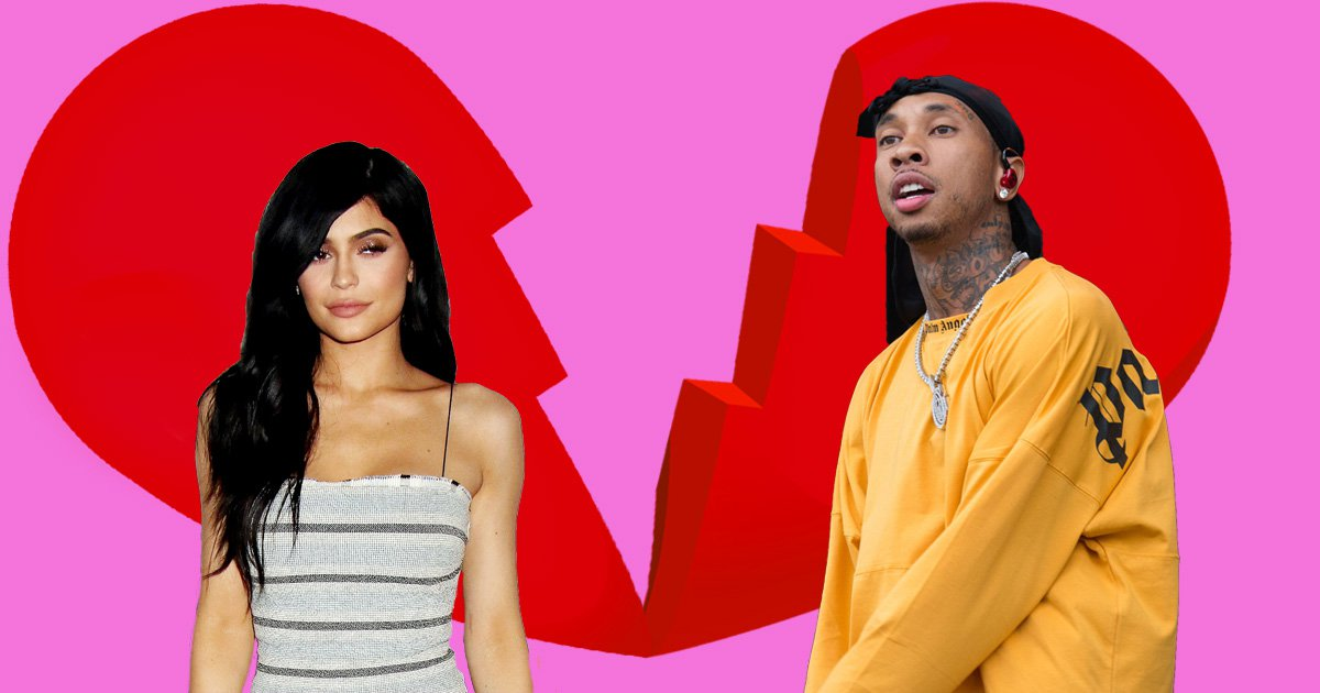 Tyga thinks he had 'lucky escape' from ex Kylie Jenner