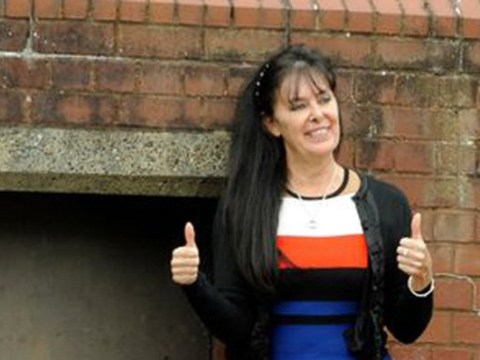 Woman who threw dog poo at 'cheating' husband gives thumbs up as she is spared jail