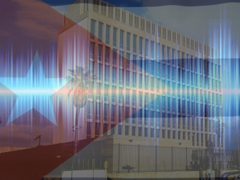 Is this the sonic weapon sound used to harm US diplomats in Cuba?
