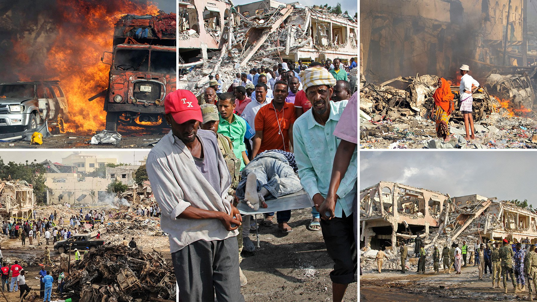 Deadliest bomb in Somalian history kills at least 231 in Mogadishu