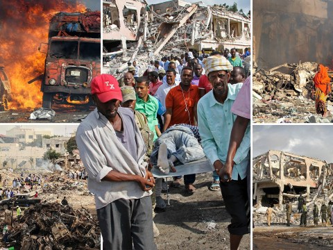 Deadliest bomb in Somalian history kills at least 231 in Mogadishu