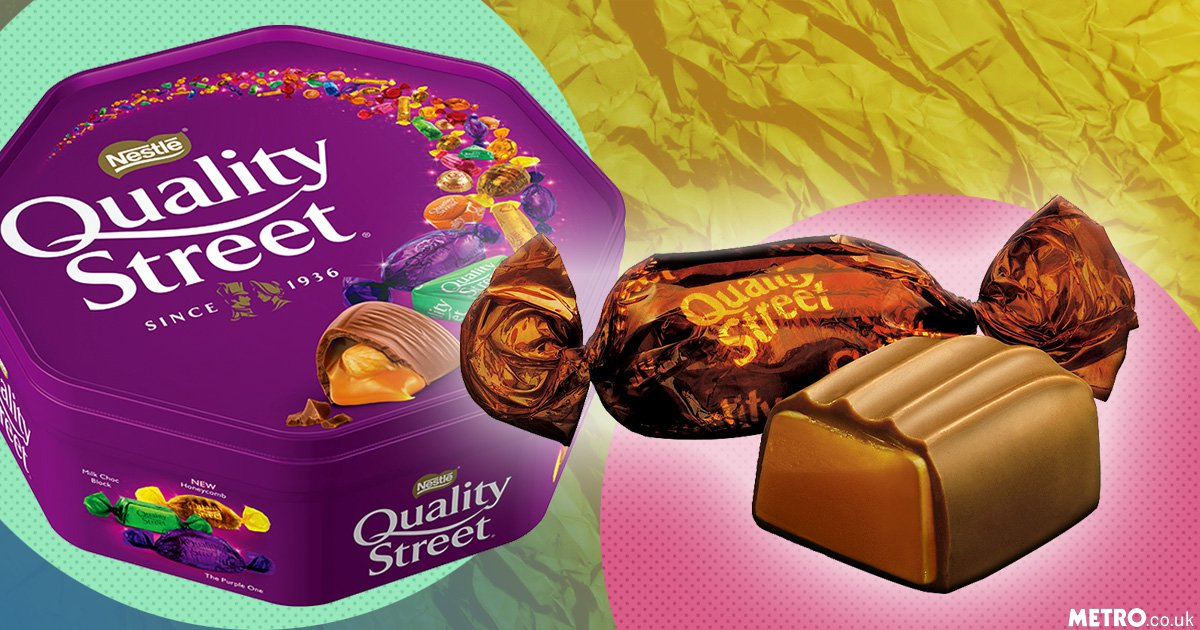 Attention, people: The Toffee Deluxe has returned to Quality Street tins