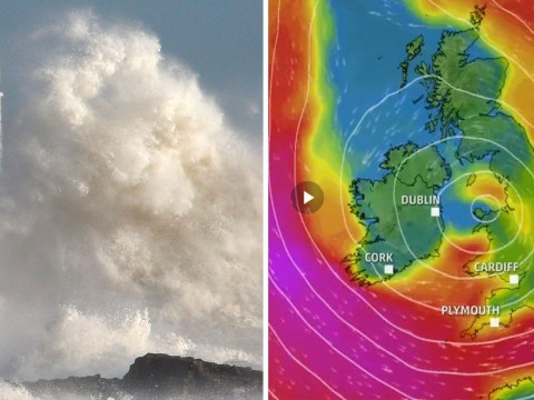 Downpours and 70mph gales will buffet UK as 'Storm Brian' to bring weekend chaos
