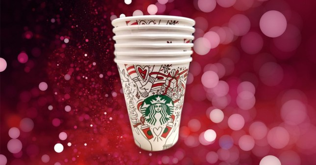 Starbucks Christmas Cups.It S Time To Get Festive Starbucks 2017 Christmas Cup Is