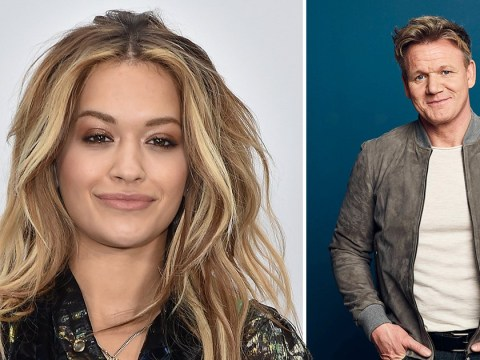 Rita Ora confronts Gordon Ramsay after she was 'refused entry' to his restaurant