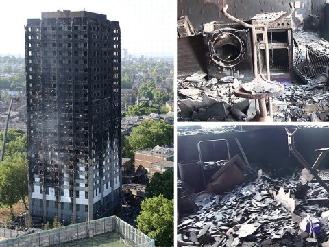Grenfell firefighter says MPs should be dragged to see tower shell