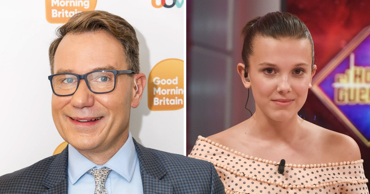 Millie Bobby Brown is 'dead to' Richard Arnold after she turns scaredy cat in interview