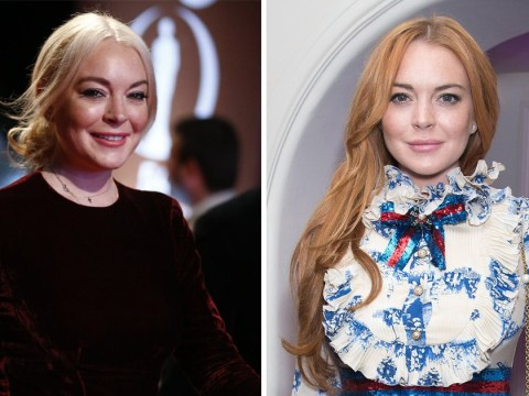 Lindsay Lohan credits her fresh faced look to 'healthy eating and working out a lot'