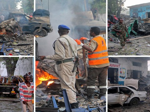 At least 17 dead after 'huge' car bomb hits Somali capital