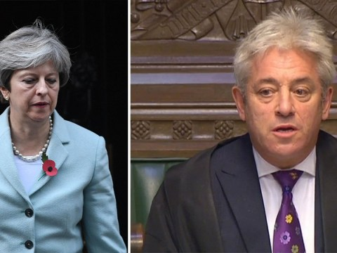 John Bercow says he's considering PM's letter on sexual harassment
