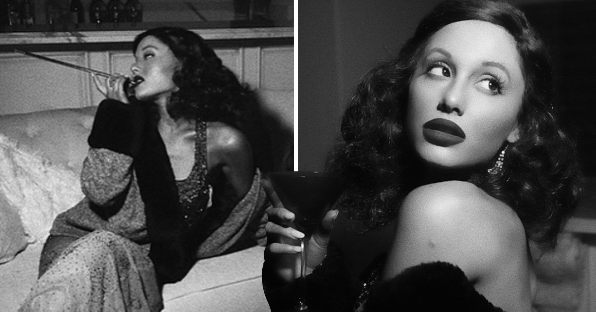 Ariana Grande's Halloween costume shows off some serious Old Hollywood glam