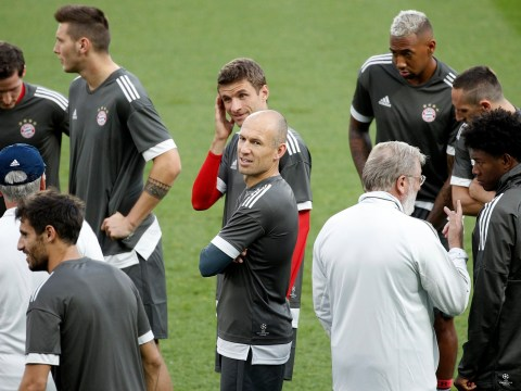 Bayern Munich players trained behind Carlo Ancelotti's back after numerous complaints about his sessions