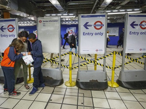 When does the tube strike start and end and what lines are affected?