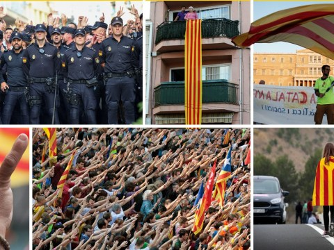 Catalonia went on a huge state-wide strike after police violence at referendum