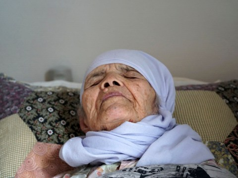 106-year-old woman carried over mountains to flee war-torn home finally granted asylum