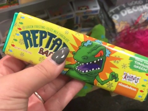 90s kids, it's time to celebrate: Rugrats Reptar bars are back