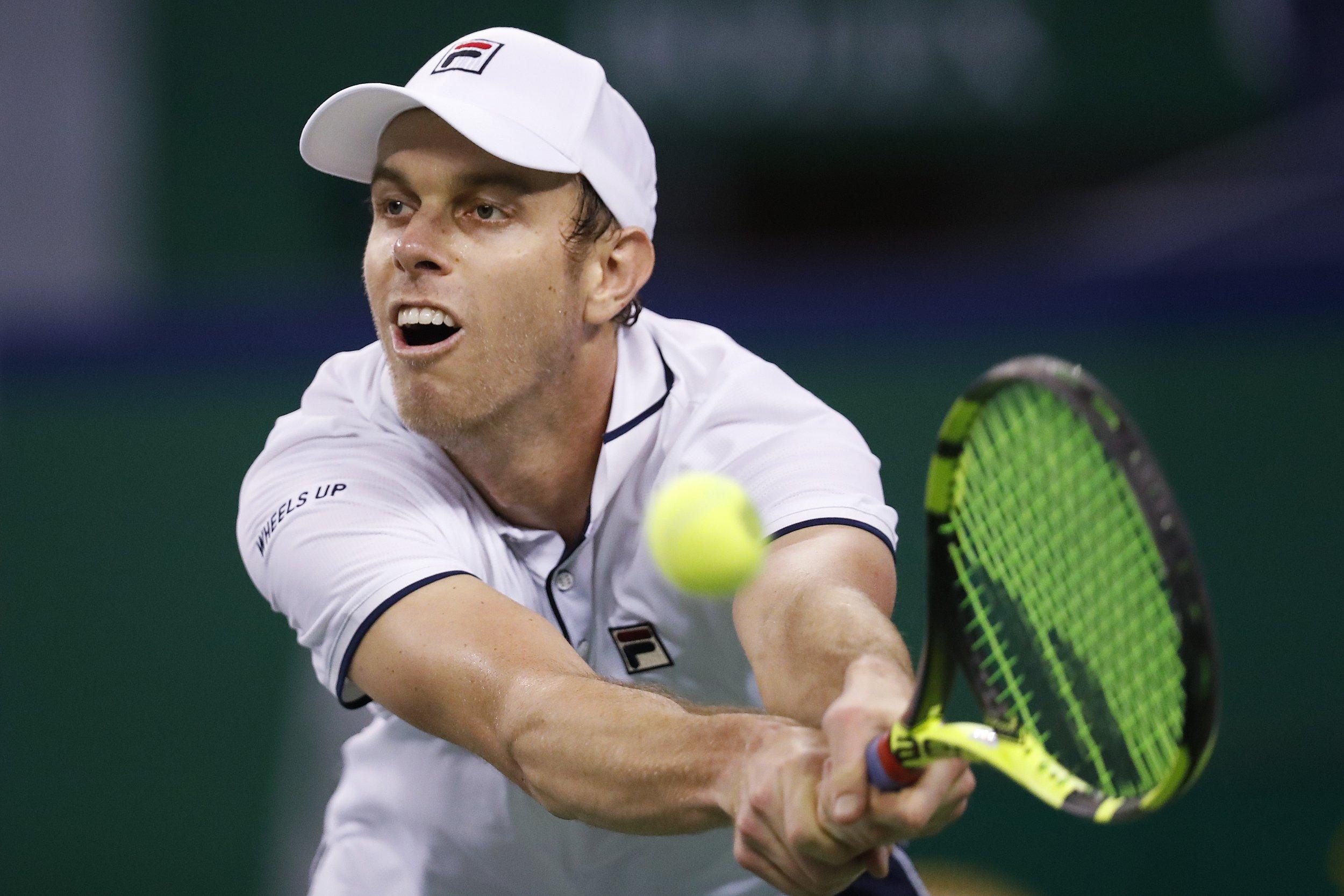 Sam Querrey won't join Roger Federer & Rafael Nadal in London after shock Paris Masters exit
