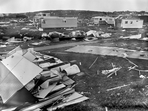 What damage did the Great Storm of 1987 cause?