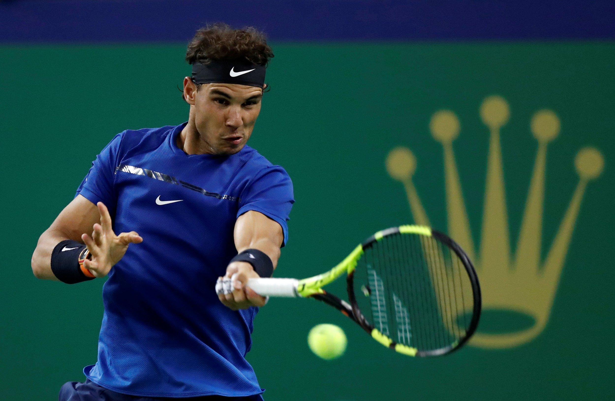 Rampant Rafael Nadal sets up Grigor Dimitrov quarter-final clash in Shanghai