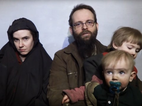 American publicly 'defiled' by Taliban group released with husband and kids after years