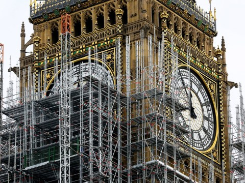 Hurrah! Big Ben will bong again – but it won't be on time