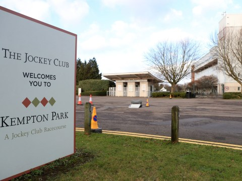 Kempton Park races abandoned after man dies in 'stable yard incident'