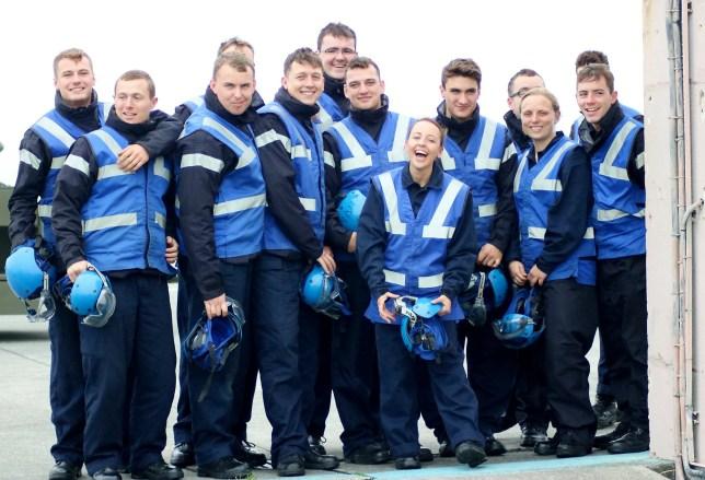 Britain's shortest servicewoman now has dangerous Royal Navy