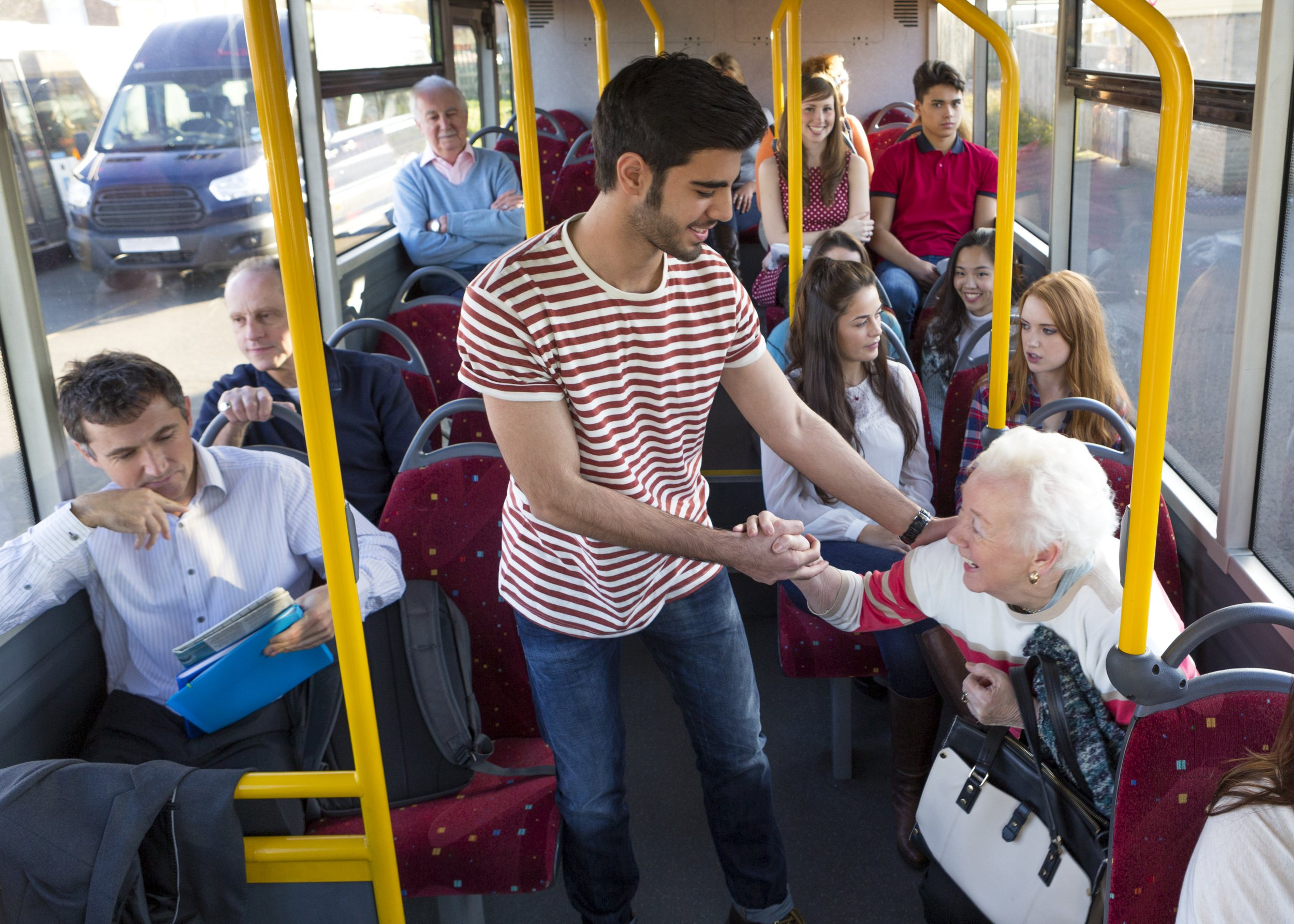 Why you should not offer elderly people a seat on public transport