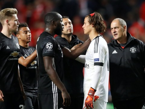 Benfica goalkeeper Mile Svilar reveals what Romelu Lukaku said to him after Manchester United's win