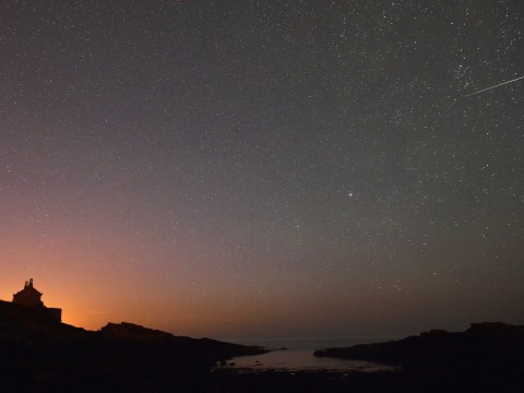 What time is the Orionid meteor shower tonight and where can I watch it in the US?