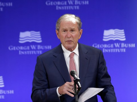 George W Bush comes out of nowhere to insult Donald Trump