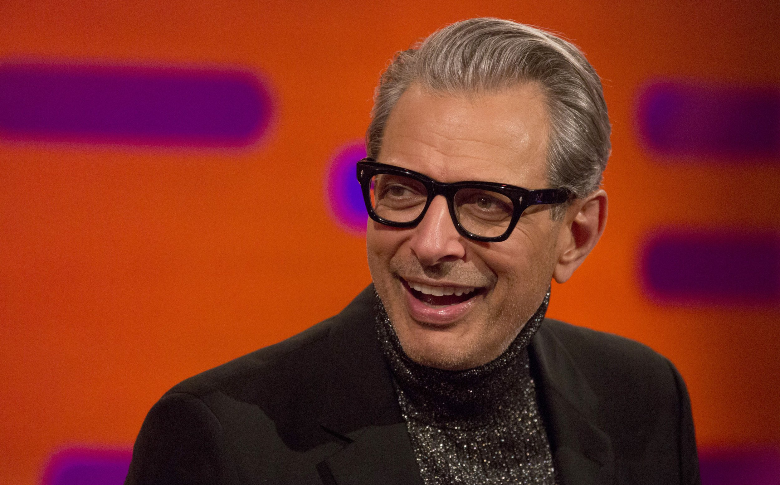 Jeff Goldblum is out Jeff Goldblum-ing himself and releasing his debut album