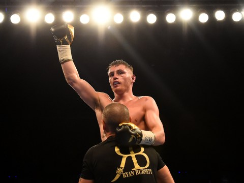 Ryan Burnett claims IBF and WBA bantamweight titles after outpointing Zhanat Zhakiyanov