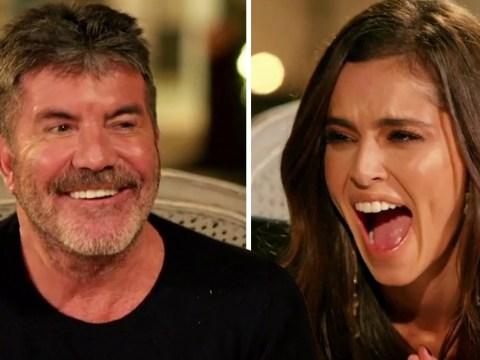 Cheryl cracks up as Simon Cowell throws shade at her ex Jean-Bernard Fernandez-Versini on The X Factor