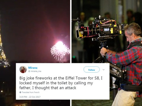 Panic in Paris as Sense8 producers set off fireworks on Eiffel Tower