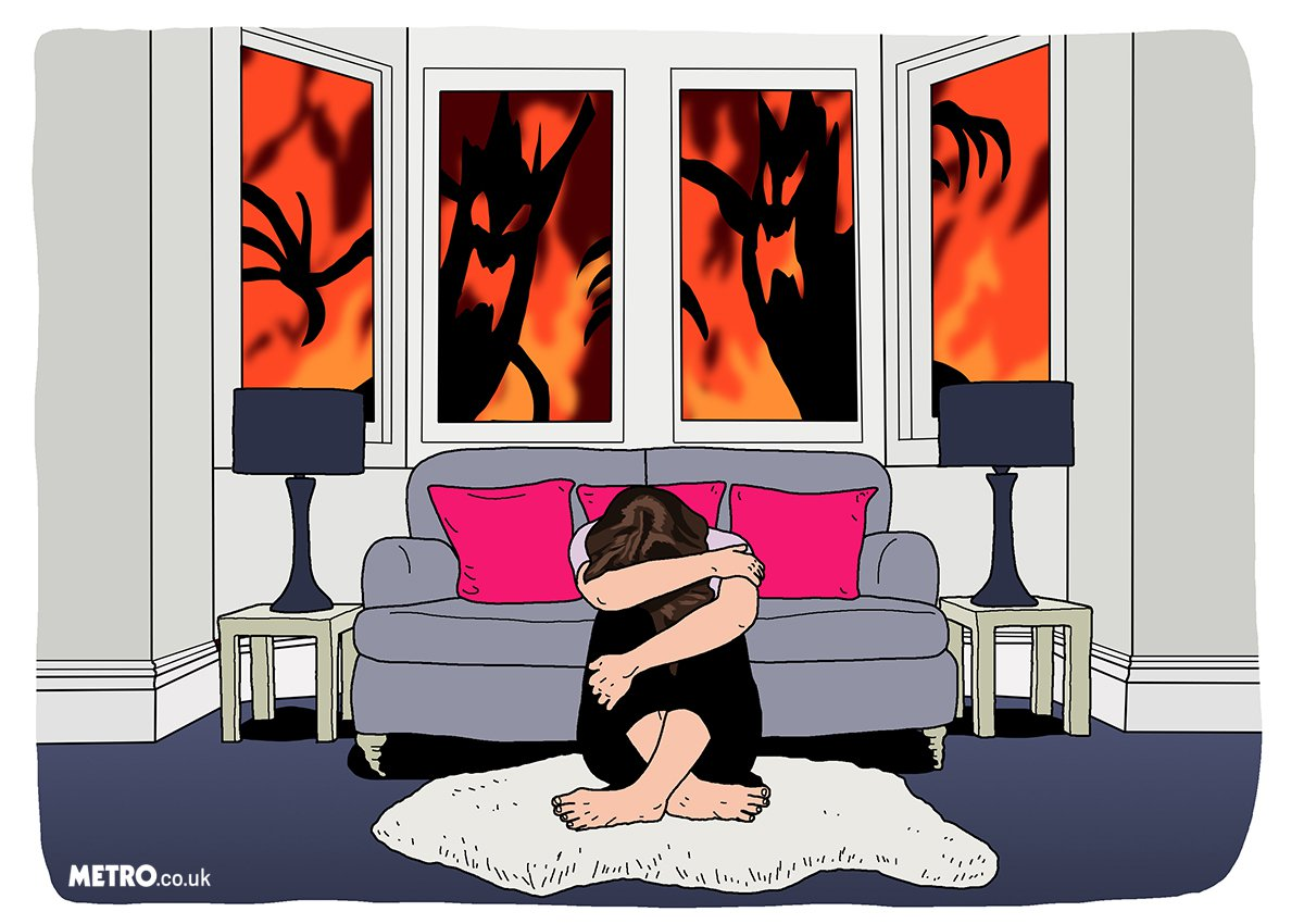 This is what it's like to live with agoraphobia