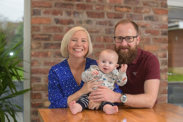 Couple trying for seven years have a baby after dropping exercise