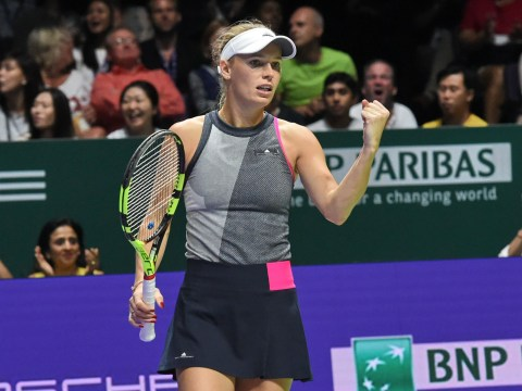 Caroline Wozniacki downs Venus Williams to win maiden WTA Finals title and end 2017 on a high