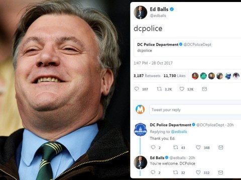 Ed Balls mocks a police force for making a familiar Twitter mistake