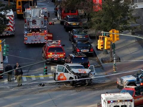Witnesses of New York shooting describe scene of chaos as van mows down pedestrians