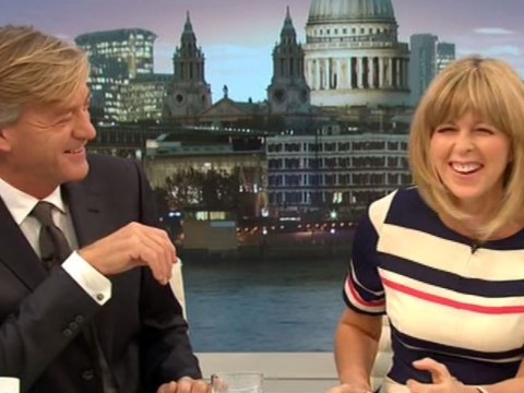Kate Garraway announces 'we all want Storm Dick' as Good Morning Britain descends into smut